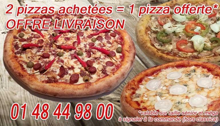 pizza en livraison