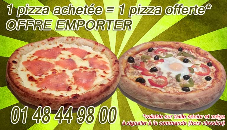 pizza livraison pantin